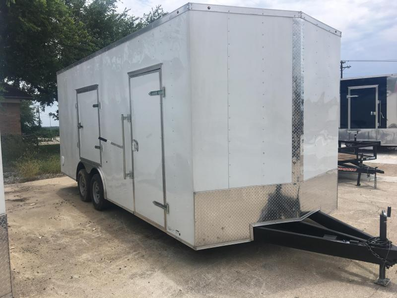 2019 8.5X20TA Enclosed Cargo Trailer