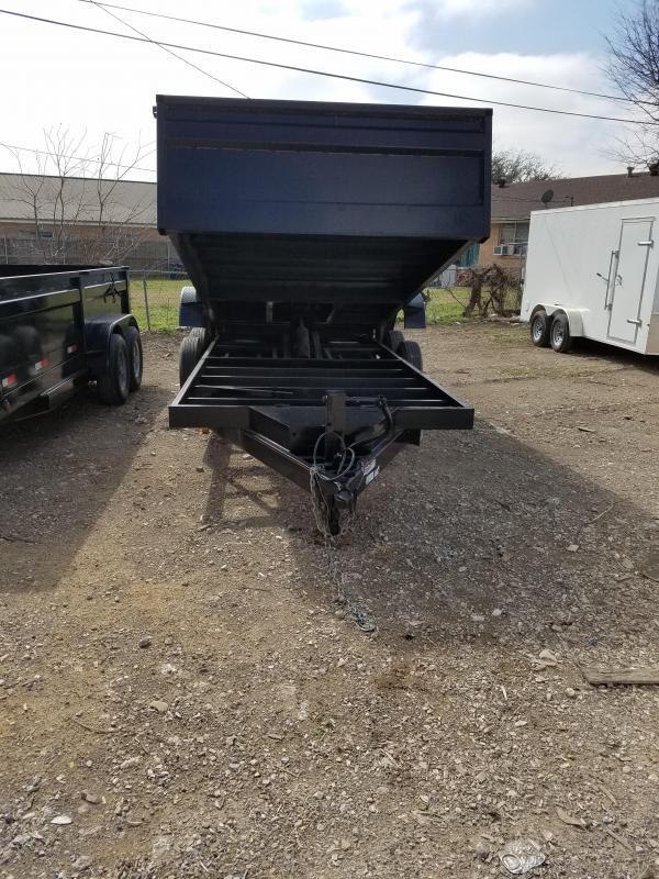 2018 Salvation Trailers 7 x 16 dump trailer Dump Trailer