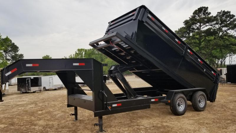 2018 Salvation Trailers 83X16 Dump Trailer