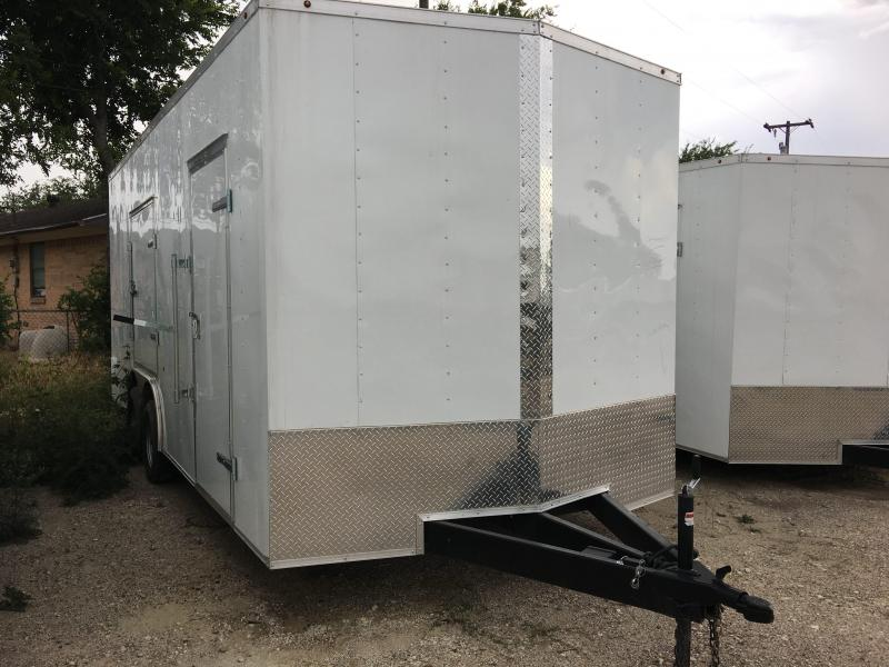 2018 8.5X20TA Enclosed Cargo Trailer