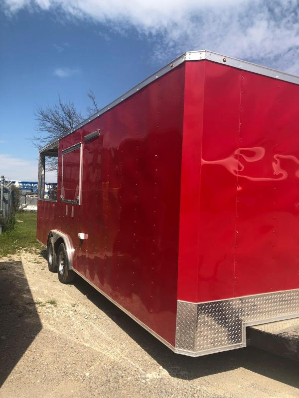 2019 SALVATION 8.5X22 PORCH CONCESSION Vending / Concession Trailer