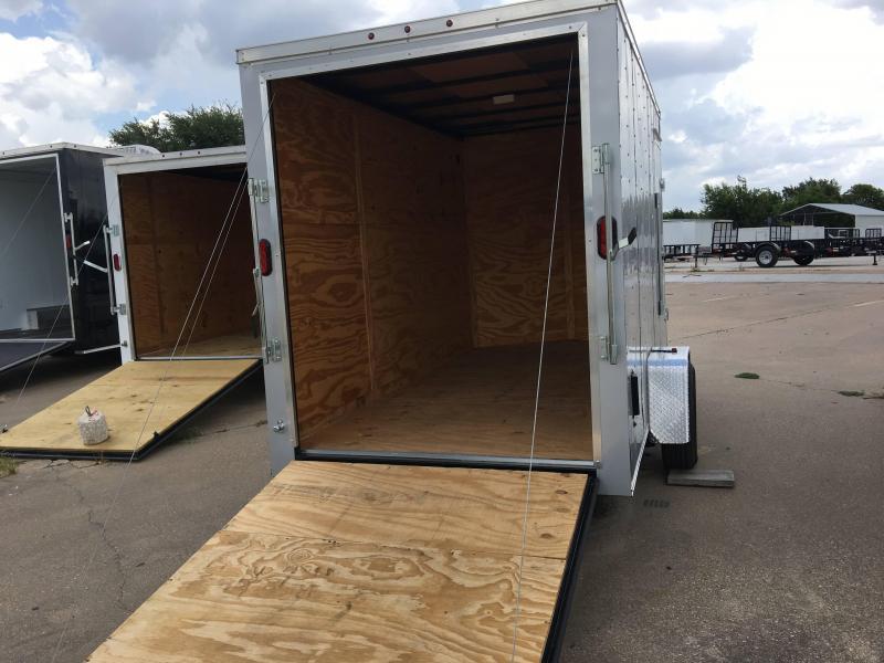 2018 6x12SA Enclosed Cargo Trailer