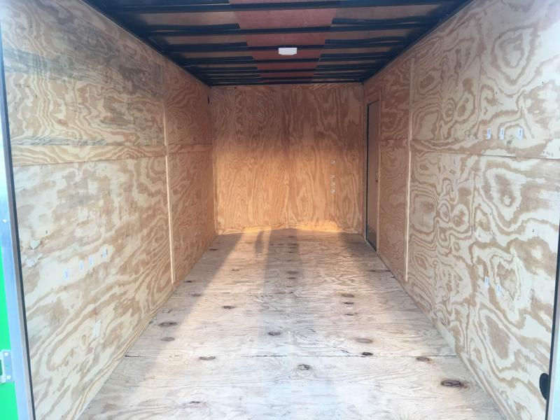 2019 7X16TA Enclosed Cargo Trailer