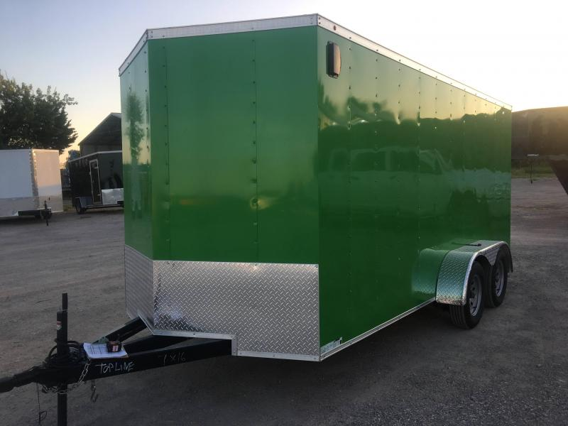 2019 7X16TA Enclosed Cargo Trailer in Ashburn, VA