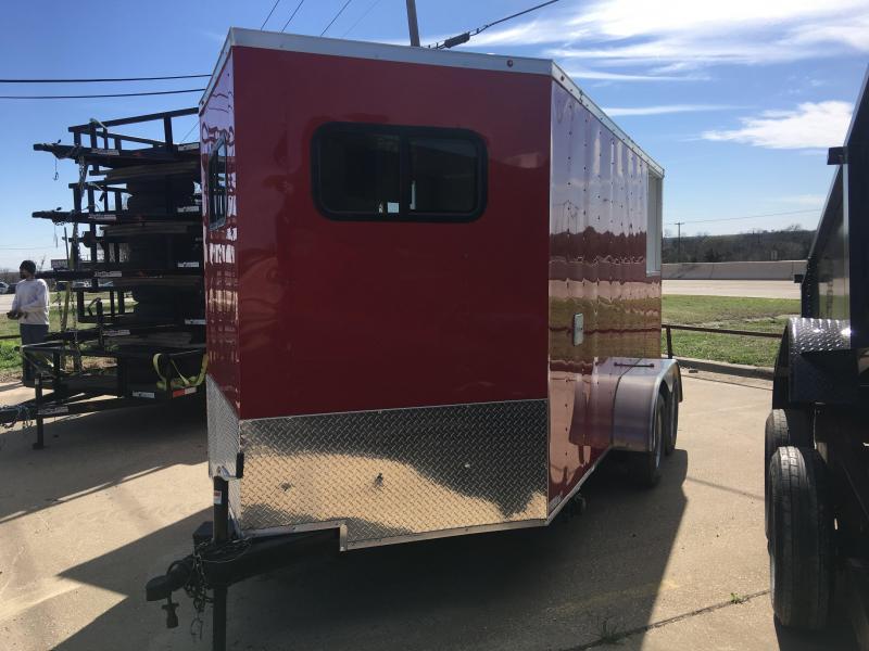 2018 Salvation Trailers 7x14 Enclosed Cargo Trailer
