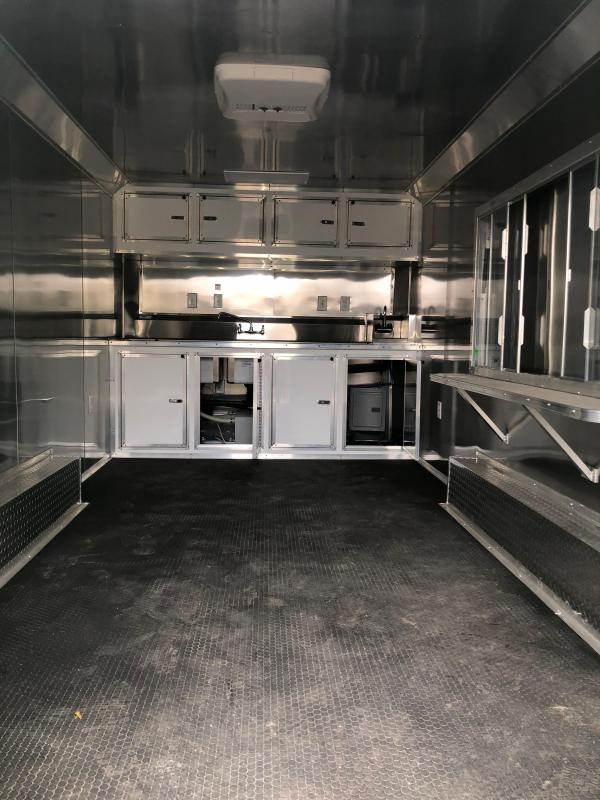 2018  8.5x16 concession Vending / Concession Trailer