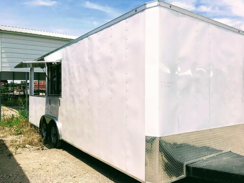 New 8.5X22TA Vending / Concession Trailer / BBQ Porch Trailer