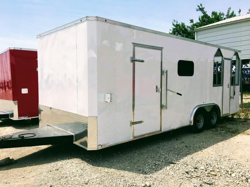 New 8.5X22TA Vending / Concession Trailer / BBQ Porch Trailer