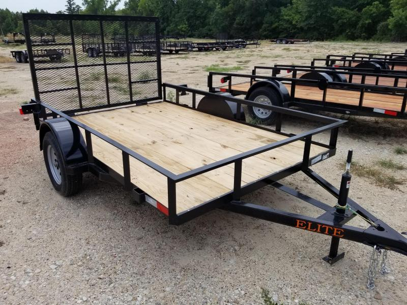 2019 Salvation Trailers 77X10 Flatbed Trailer