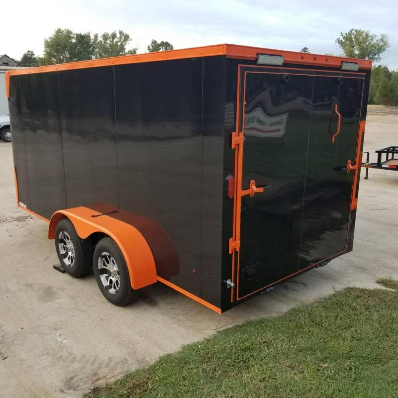 2018 Salvation Trailers 7X14 MOTORCYCLE TRAILE