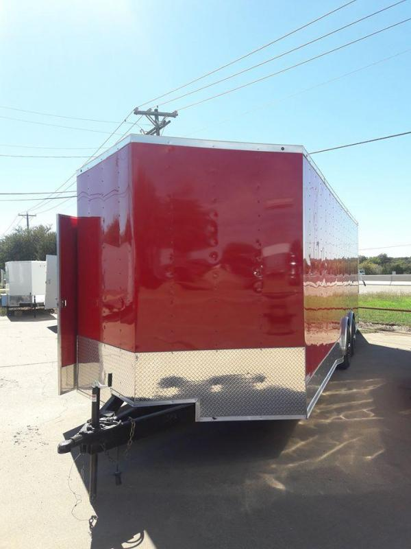 2018 8.5x24 Race Car Trailer Enclosed