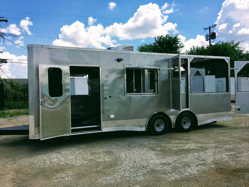8.5X24TA Porch BBQ Smoker Concession Trailer in Ashburn, VA