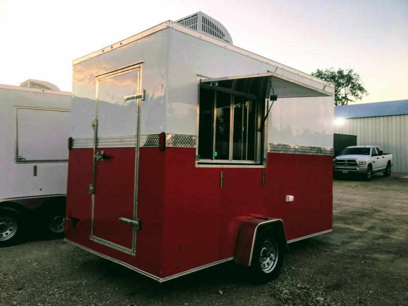 7X12SA Vending / Food Concession Trailer
