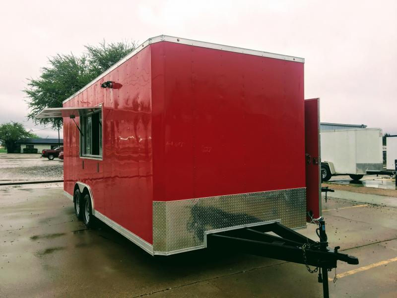 2018 8.5X18TA Vending / Concession Trailer