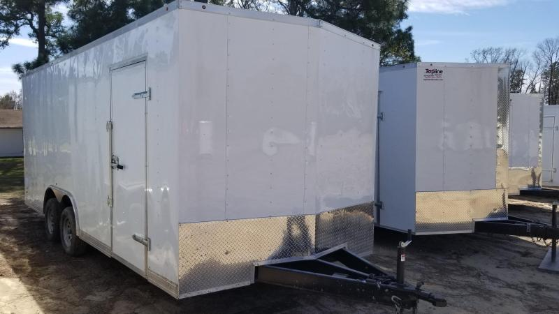 2018 Salvation Trailers 8X20 Enclosed Cargo Trailer