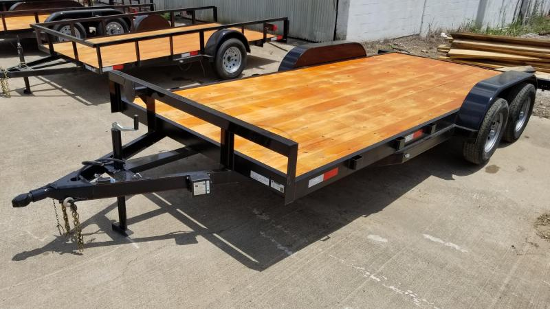 2019 Salvation Trailers 83X18 Car / Racing Trailer