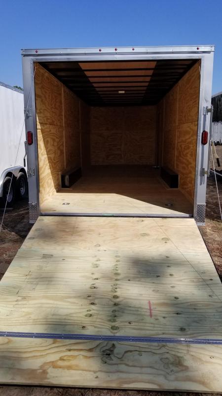 2018 Salvation Trailers 8.5X24 Enclosed Cargo Trailer