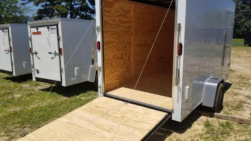 2018 Salvation Trailers 6X12 Enclosed Cargo Trailer