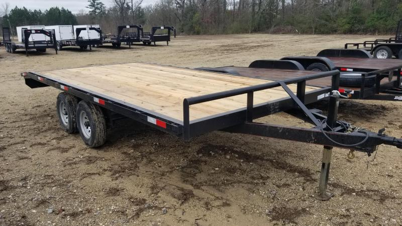 2018 Salvation Trailers 102X18 Flatbed Trailer