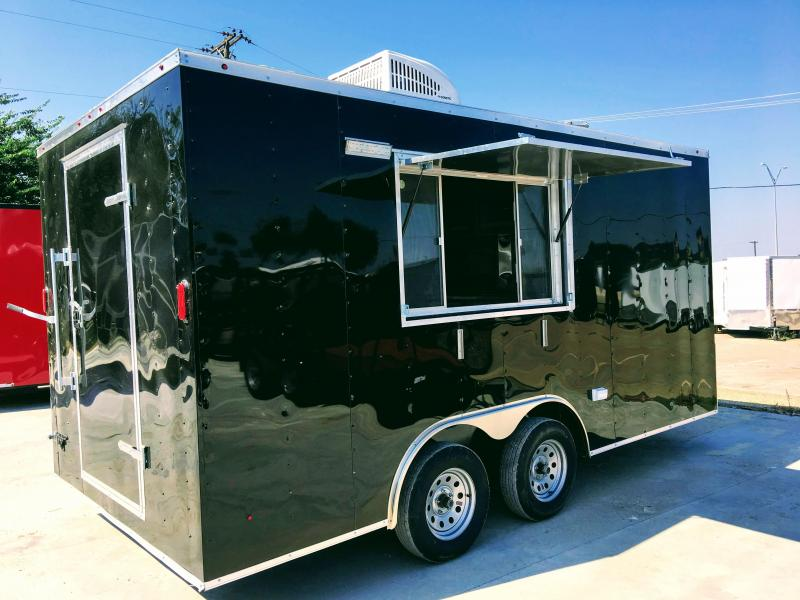 8.5X16TA Food Vending / Concession Trailer