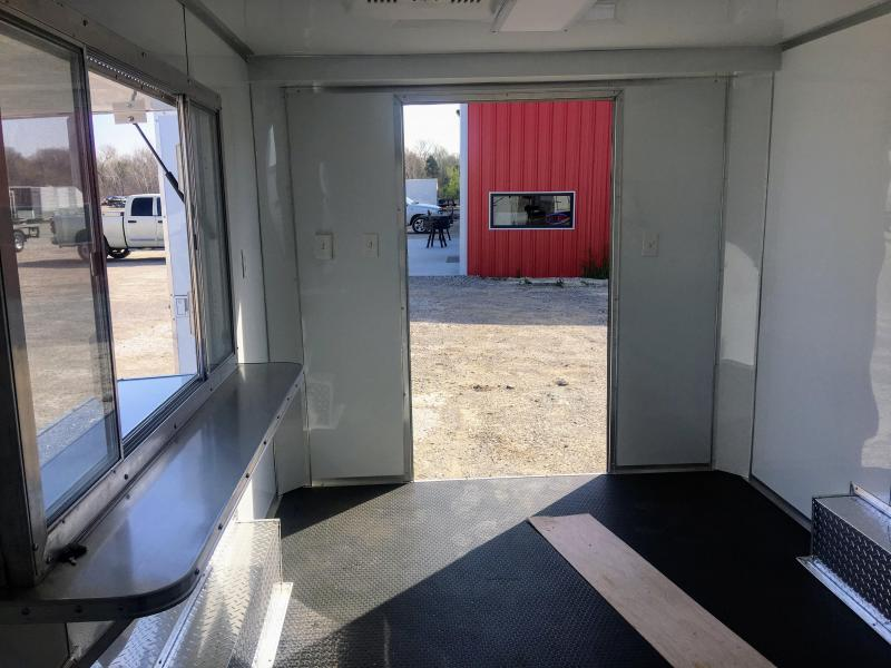 2018 White 8.5X16TA Concession Food Trailer