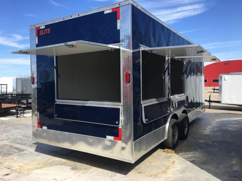 2018 Salvation Trailers 8.5x20 Vending / Concession Trailer