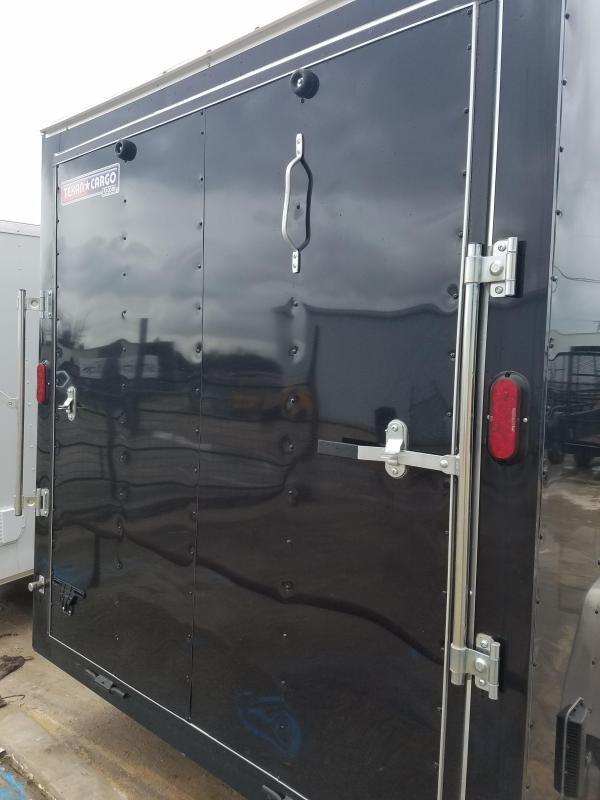 2018 7X12 Enclosed Cargo Trailer