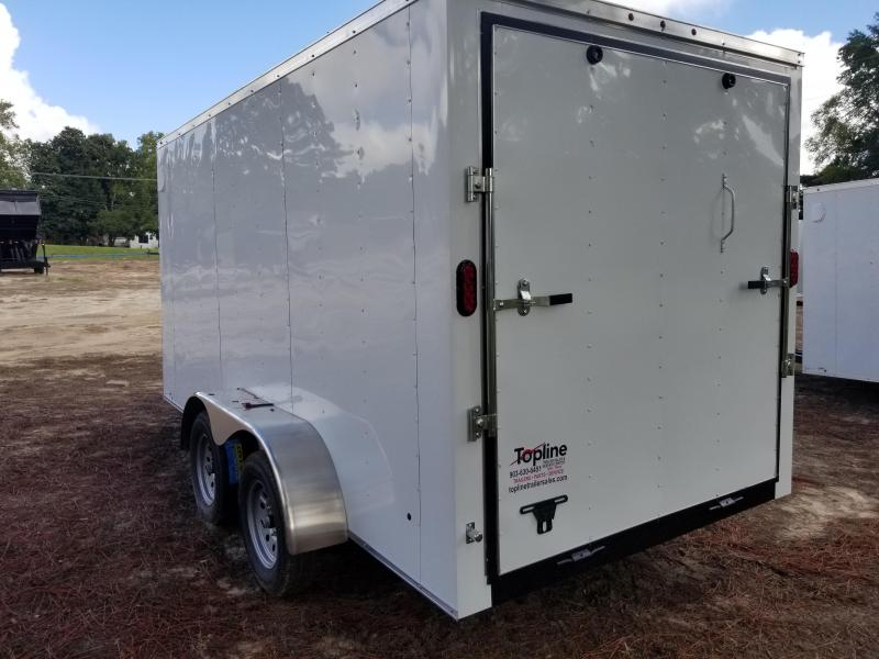 2019 Salvation Trailers 7X14 Enclosed Cargo Trailer