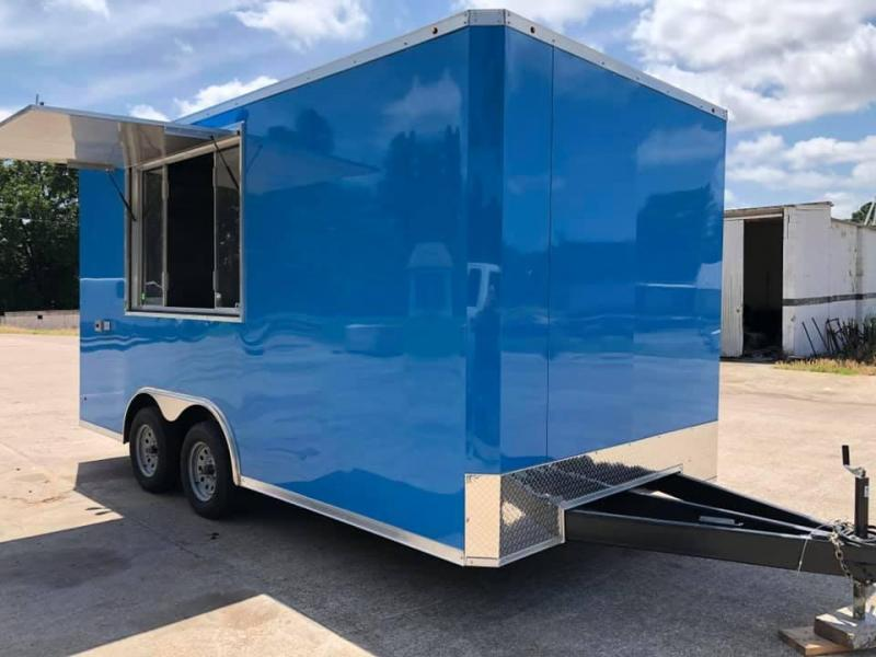 2019 Salvation 8.5x16 FOOD CONCESSION TRAILER Vending / Concession Trailer