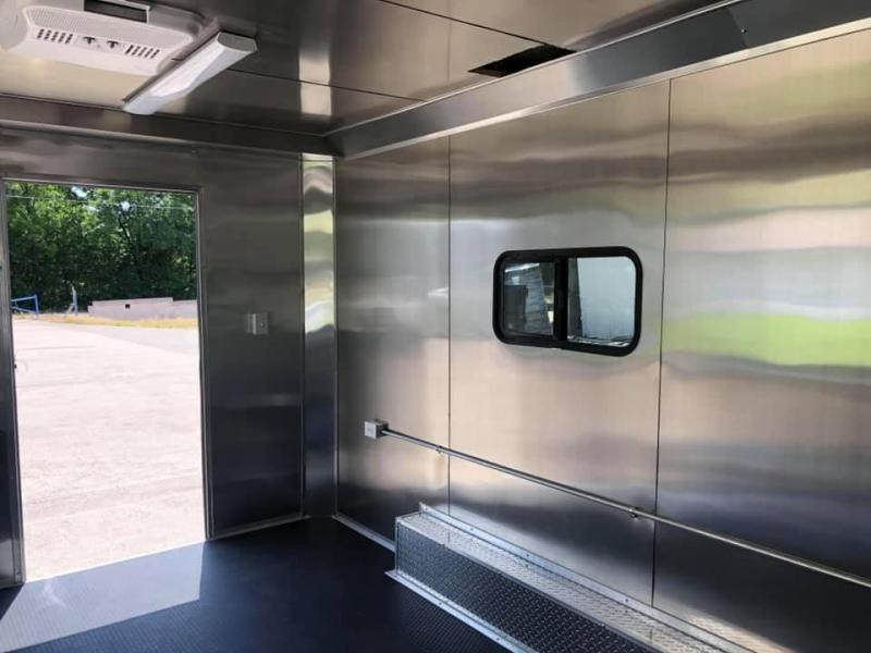2019 Salvation 8.5x16 FOOD CONCESSION TRAILER Vending / Concession Trailer