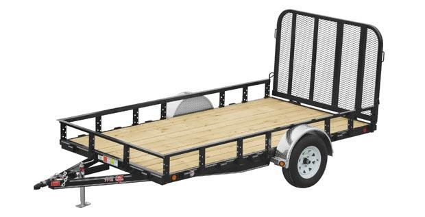 "2019 PJ 77""x 12' UTILITY WITH BEAVER TAIL"