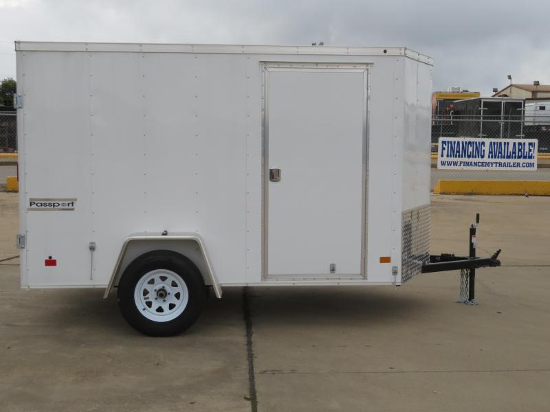 2018 Haulmark 6 x 10 Enclosed Cargo Trailer