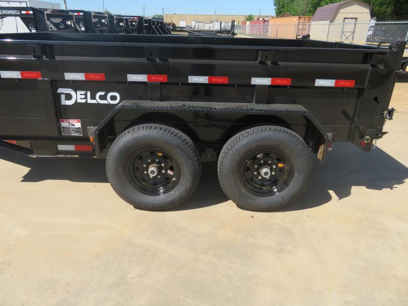 2019 Delco Trailers 83 X 12 Dump Trailer