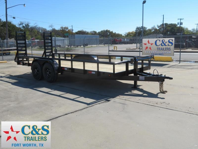 2019 Salvation Trailers 83 x 20 Equipment Trailer