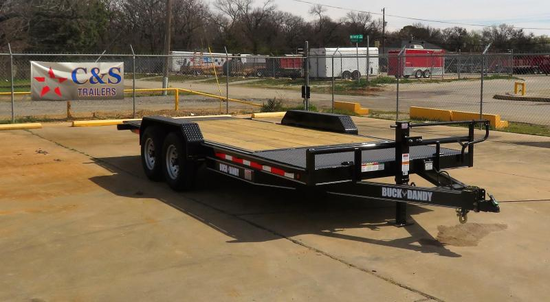 "2019 Buck Dandy 83"" x 20' Equipment Trailer"