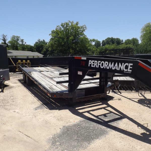 Rental 70 - Performance 20'+5' Dual Tandem Axle Equipment Hauler