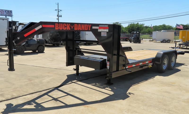 2019 Buck Dandy 83 x 20 Equipment Trailer
