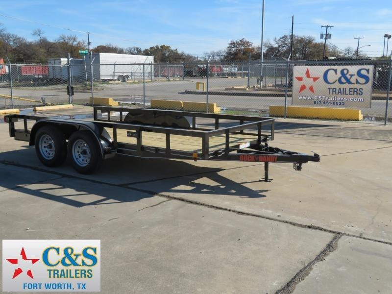 2019 Buck Dandy 77 x 14 Utility Trailer in Ashburn, VA