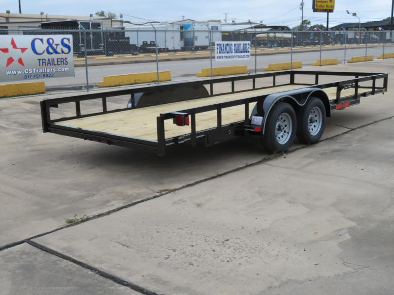 2019 Buck Dandy 83 x 20 Utility Trailer