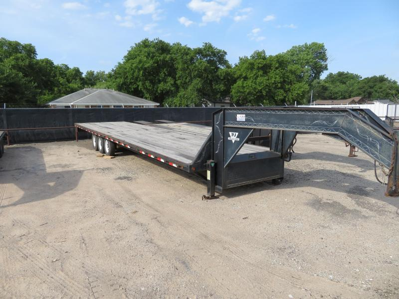 "Rental 40 - C & S 96"" x 36' Straight Deck Trailer"