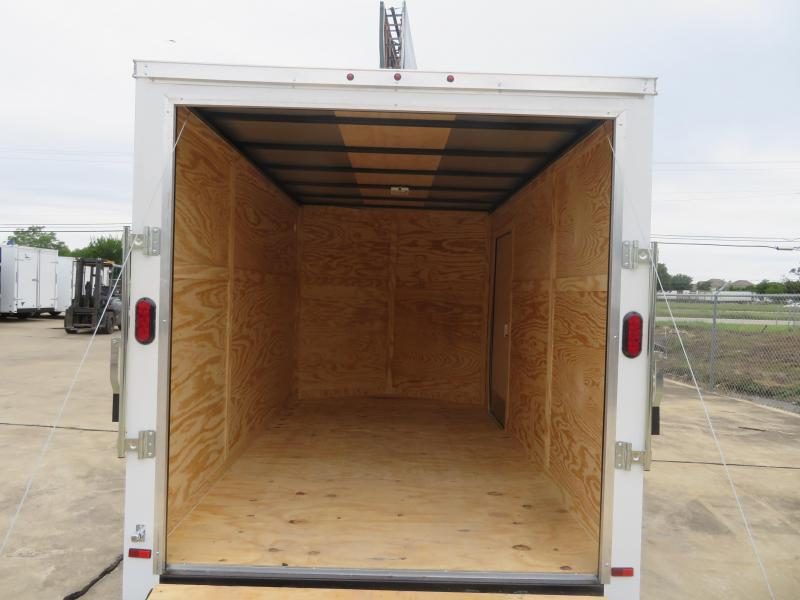 2019 Salvation 7' x 12' Enclosed Cargo Trailer