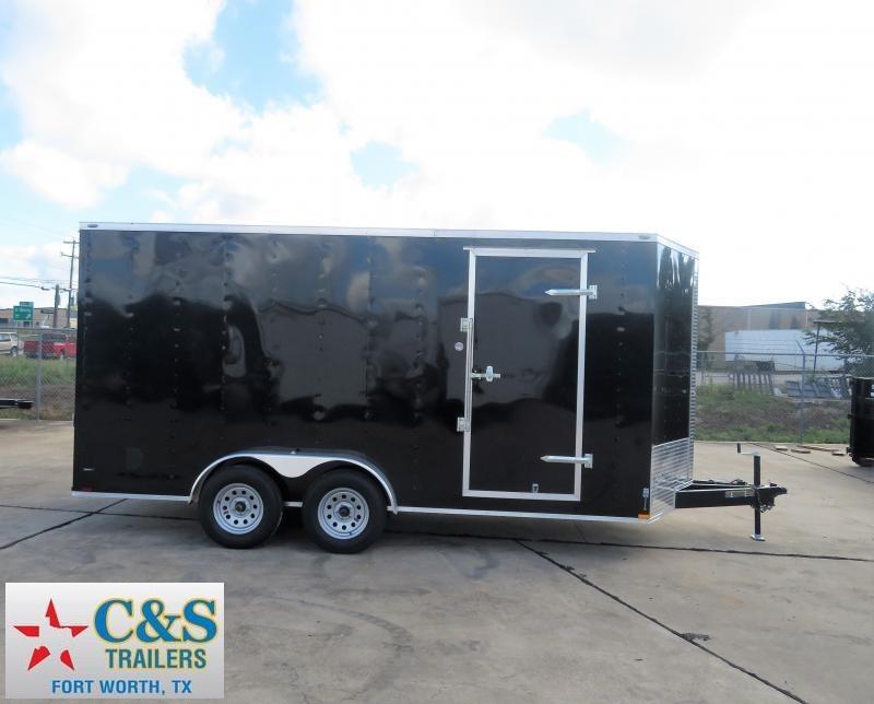 2019 Lark 7 x 16 TA Enclosed Cargo Trailer