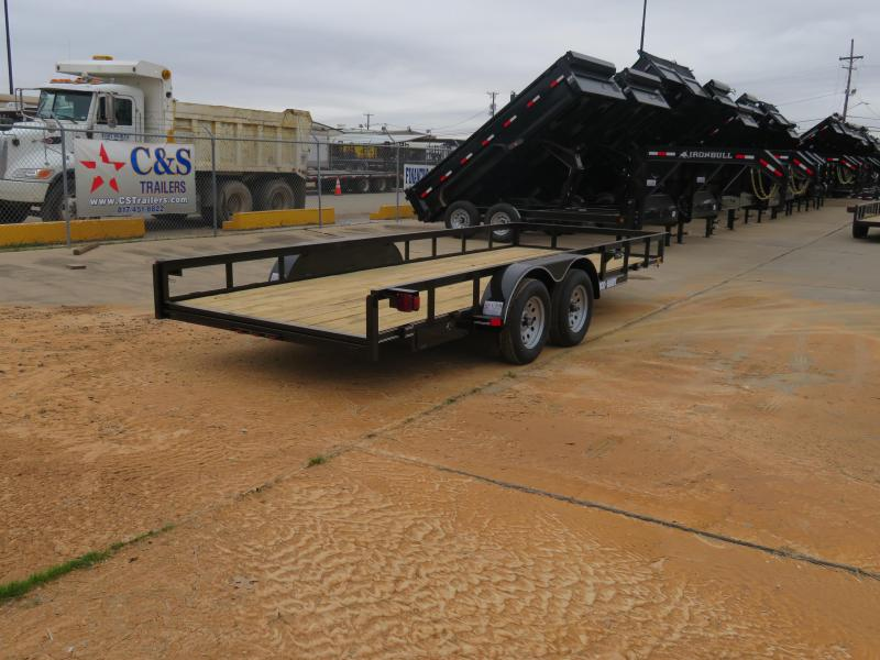 2019 Buck Dandy 18 UT 0X0 BP TA Utility Trailer