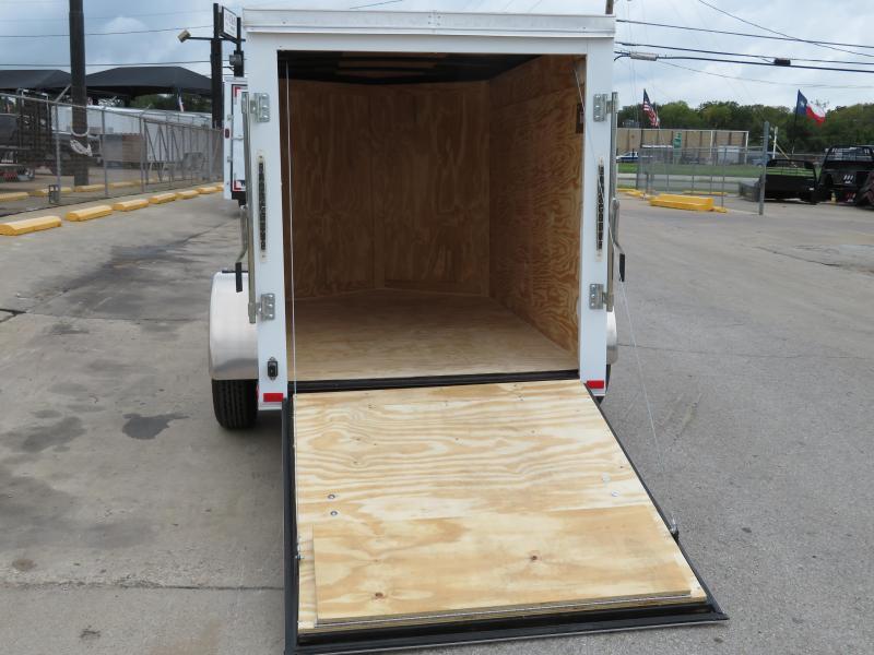 2019 Spartan 5 x 8 Enclosed Cargo Trailer