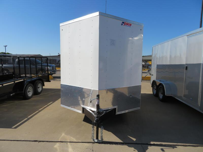 2018 Pace American 7x12 Enclosed Cargo Trailer