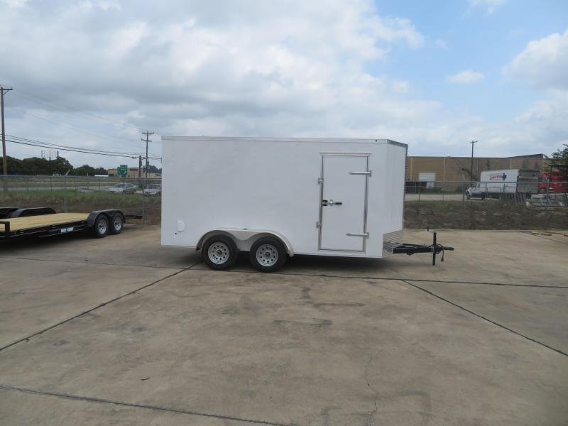 2019 Salvation Trailers 7 X 14 TA Enclosed Cargo Trailer
