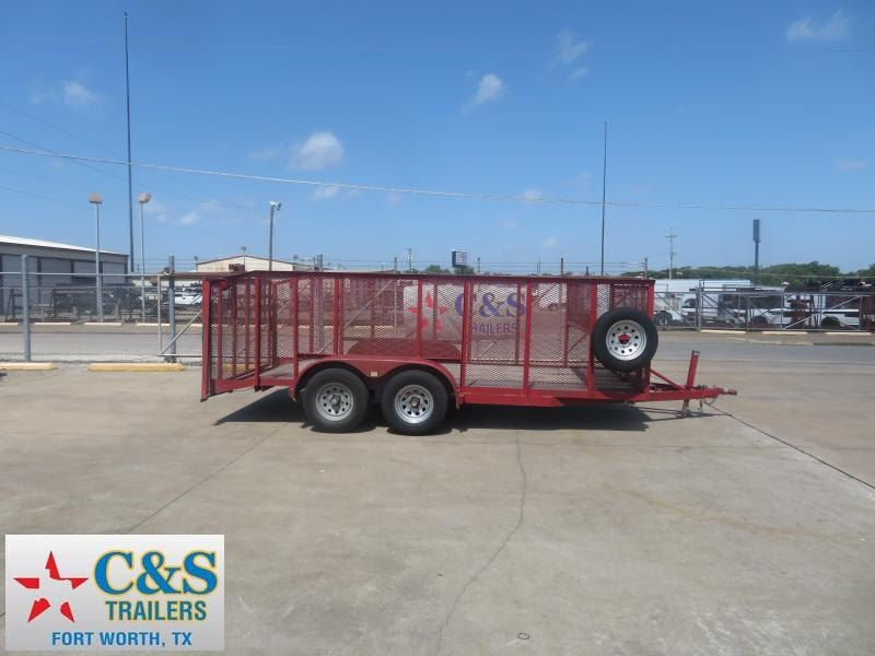 Rental 65 - 2016 Load Trail 83 x 16 Utility / Landscape Utility Trailer in Ashburn, VA