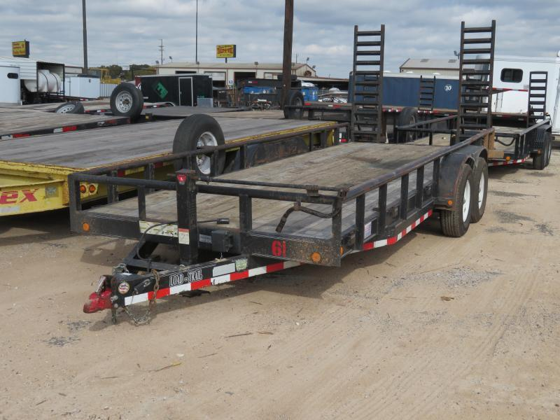 "Rental 61 - Load Trail 20' x 83"" Equipment Trailer"