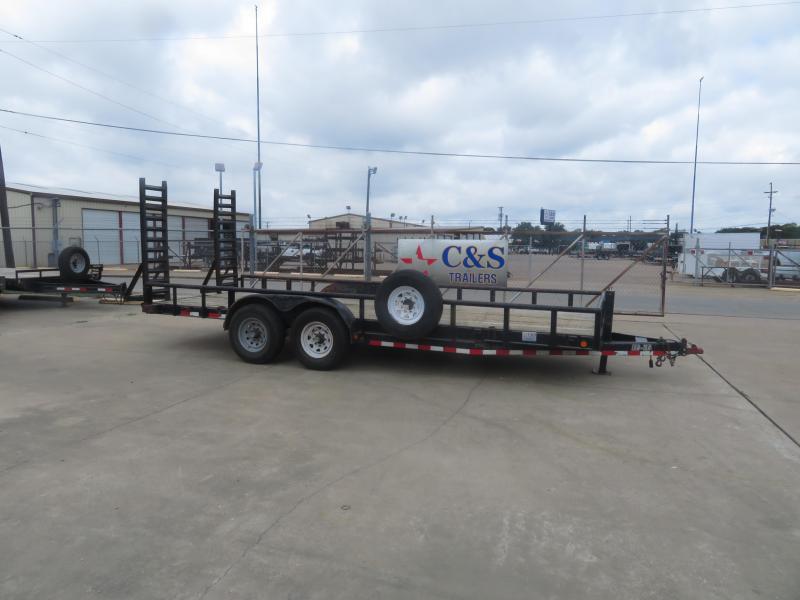 """Rental 61 - Load Trail 20' x 83"""" Equipment Trailer in Ashburn, VA"""