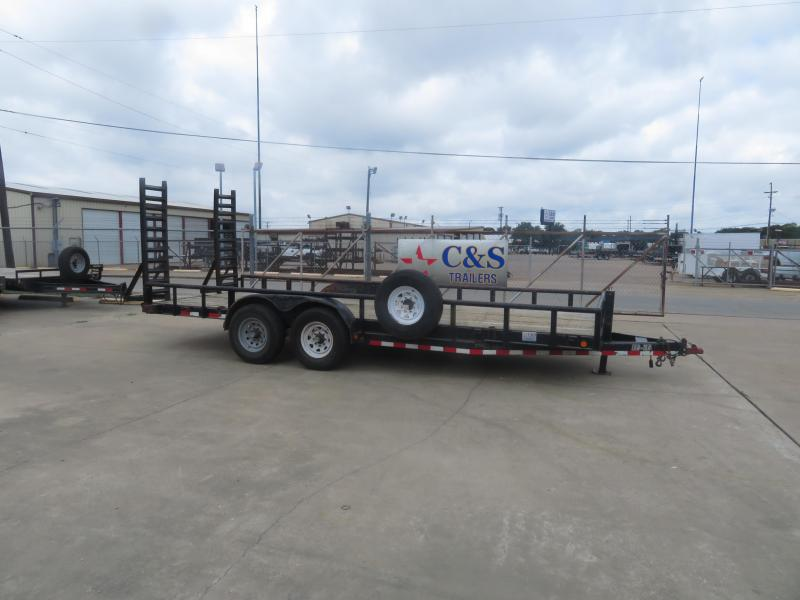 "Rental 61 - Load Trail 20' x 83"" Equipment Trailer"